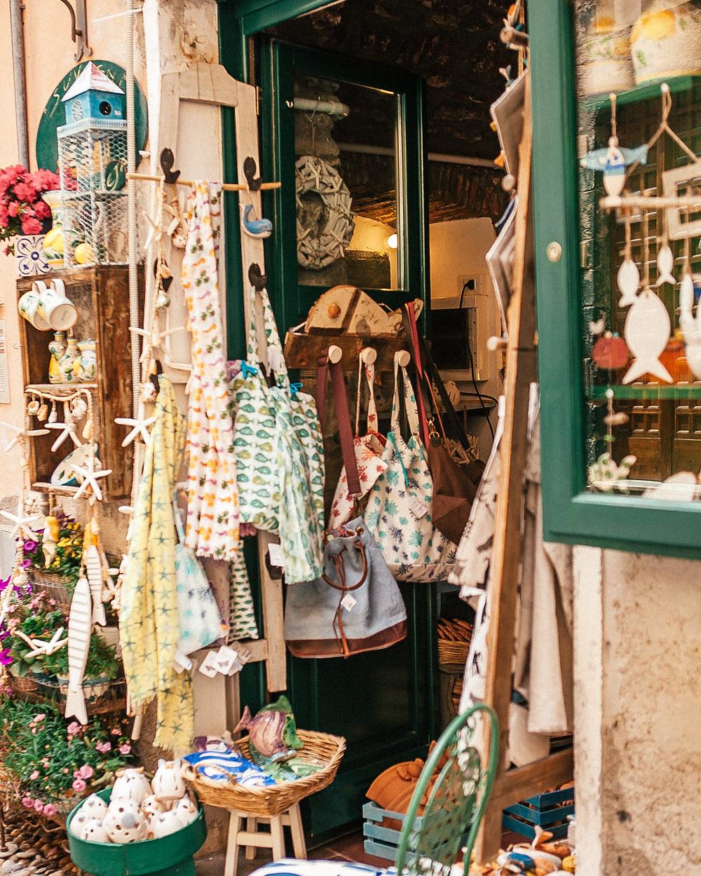 Monterosso Shops, Cinque Terre, Italy