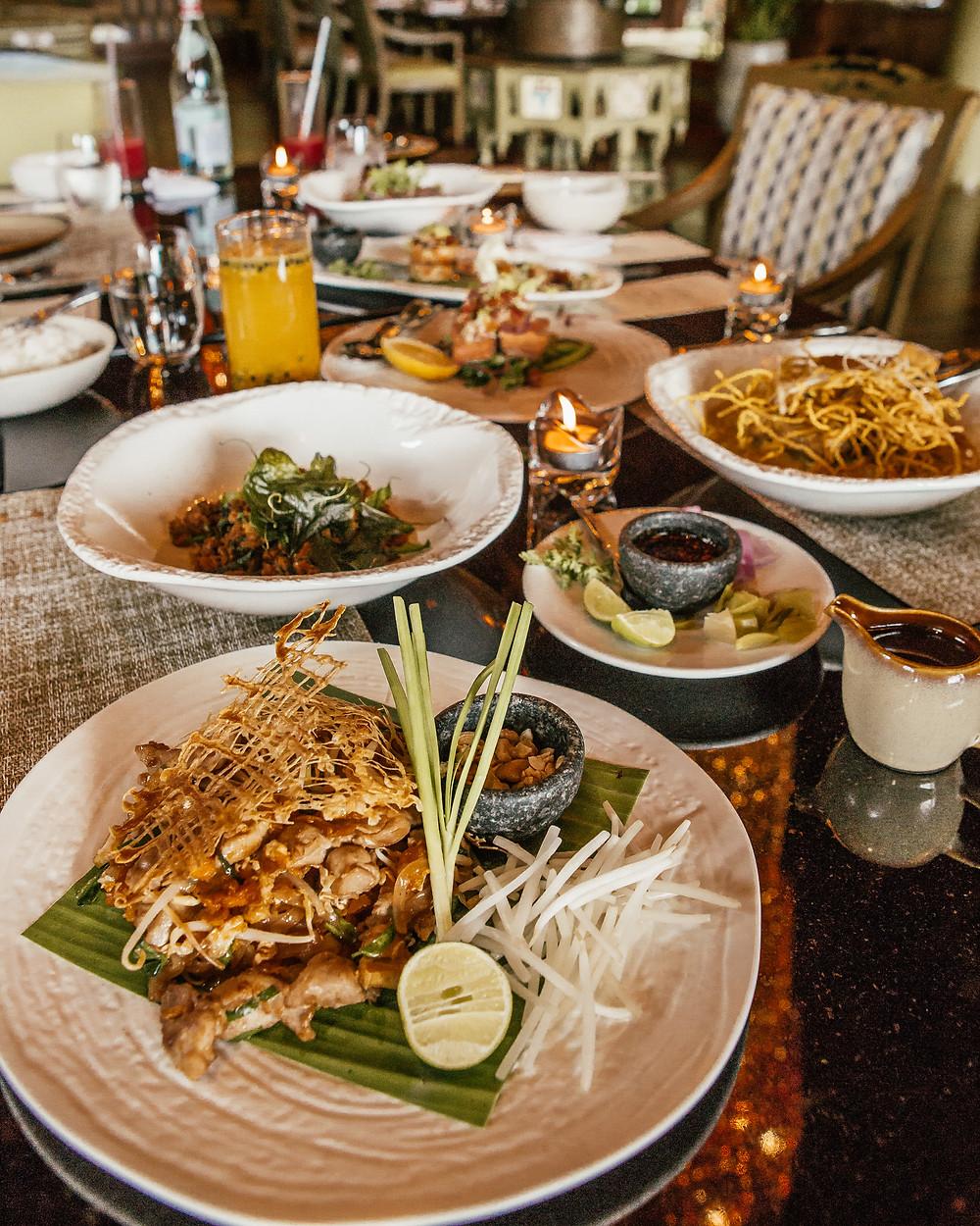 Thai Food, Four Seasons Chiang Rai Resort, Thailand