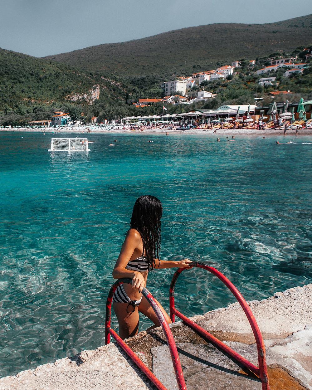 Zanjice Beach, Montenegro