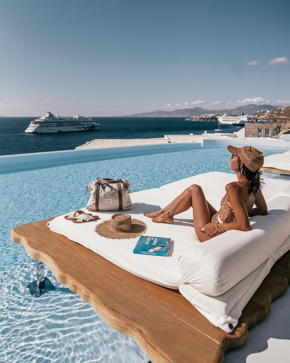 Diamond Villa Pool, Cavo Tagoo, Mykonos, Greece
