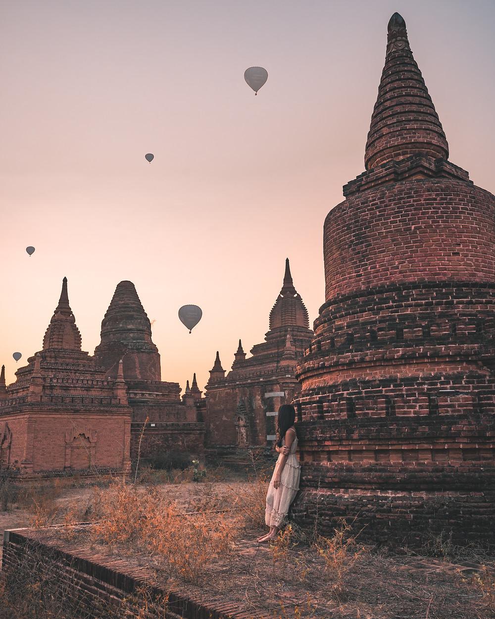 Shwe Nan Yin Taw Monastic Complex, Old Bagan, Myanmar