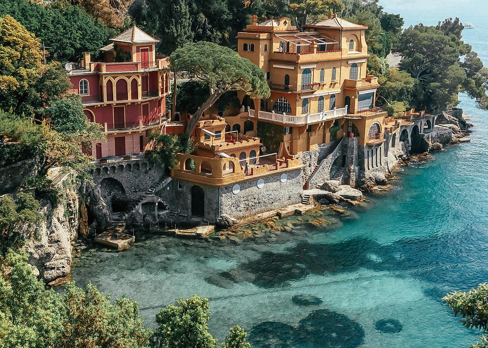 Golden Villa, Cannone Bay, Portofino, Italy