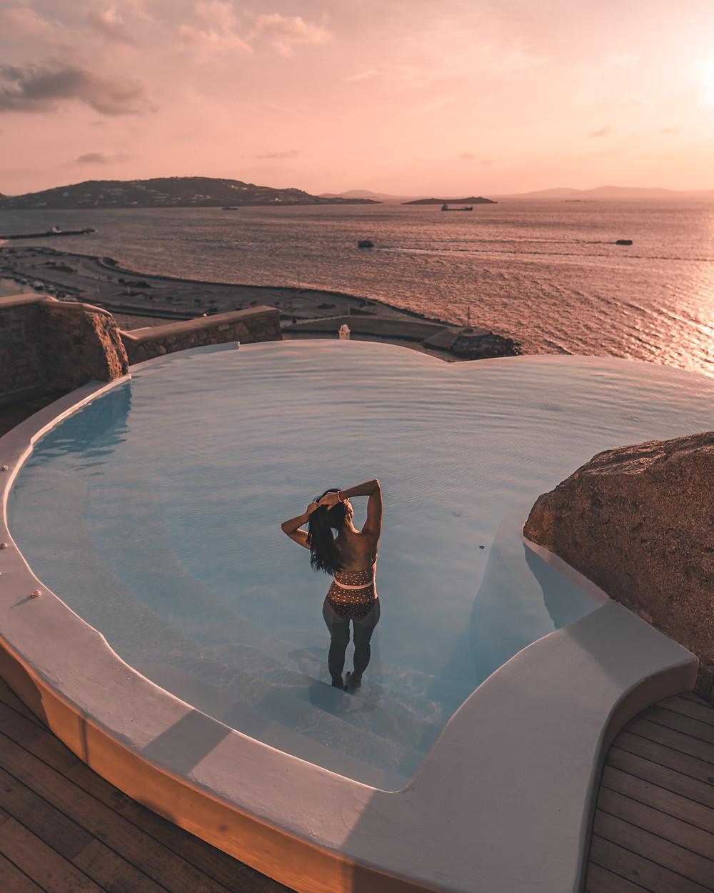 Cavo Tagoo, Mykonos, Greece