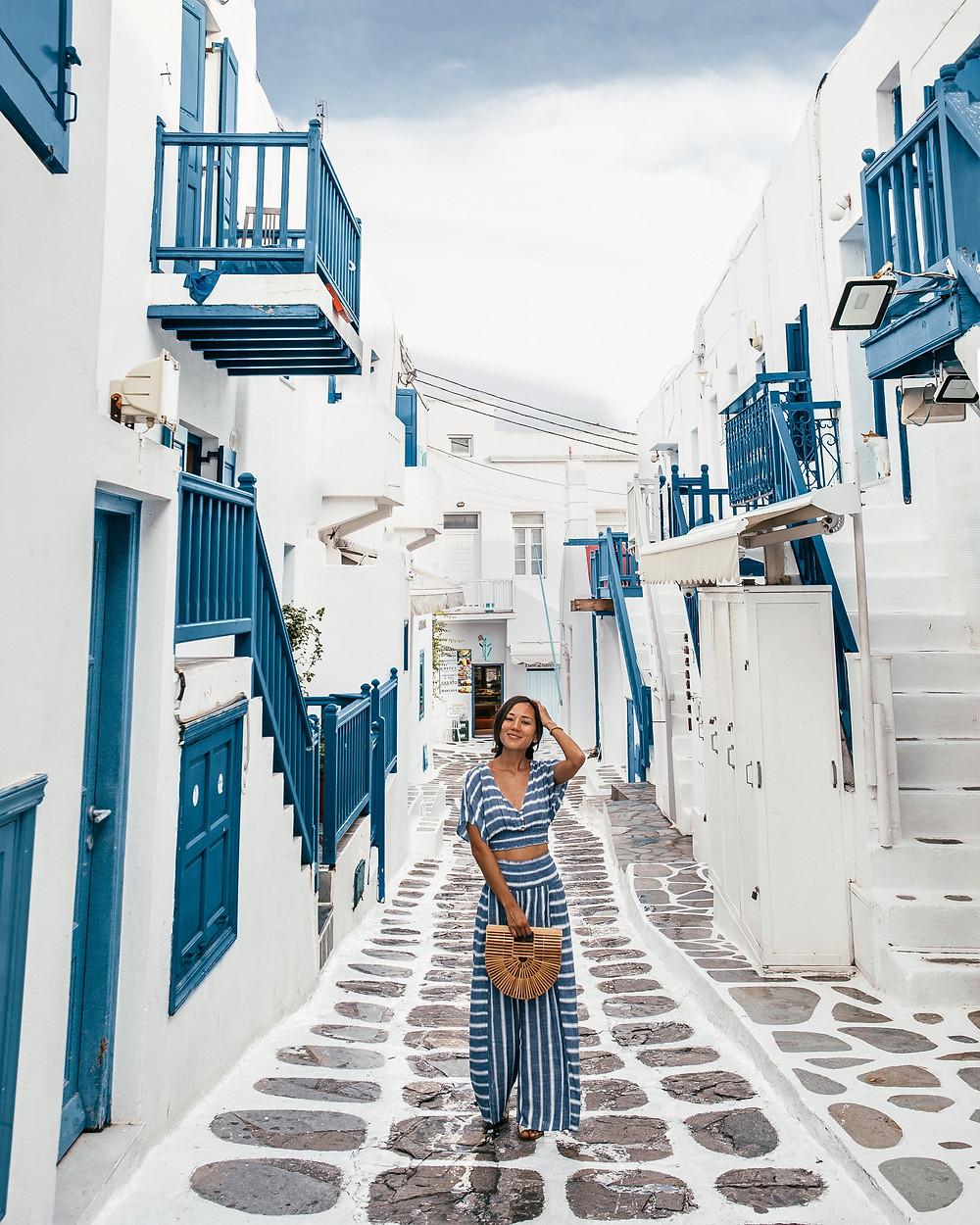 Little Venice, Mykonos Iconic Street, Greece