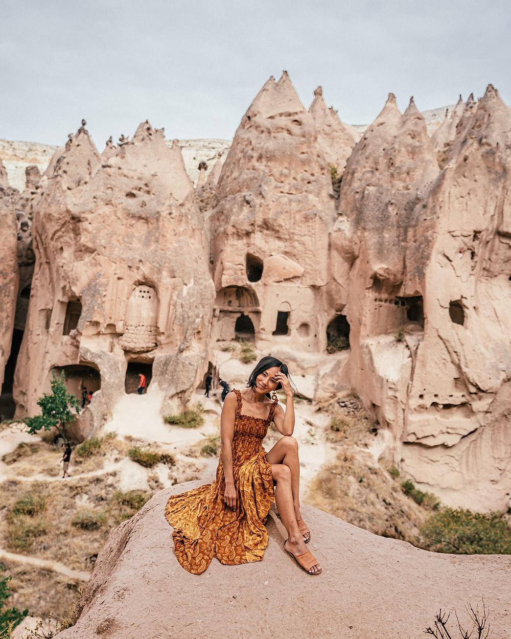 Zelve Open Air Museum, Cappadocia, Turkey