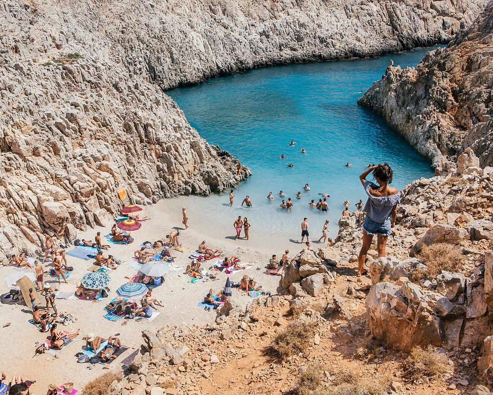 Seitan Limani , Crete, Greece