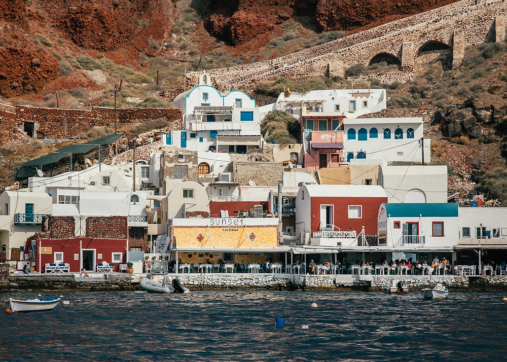 Amoudi Bay, Santorini, Greece