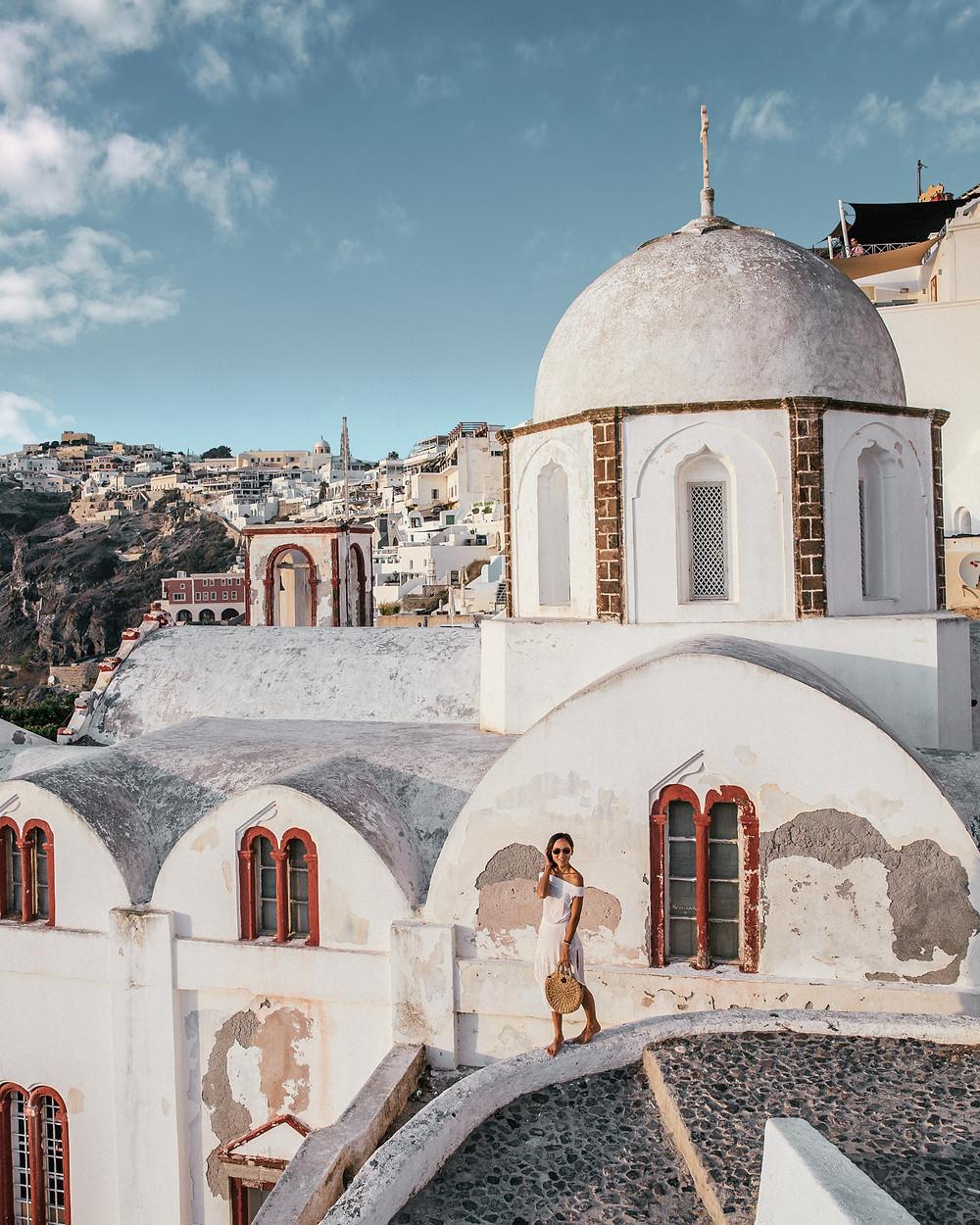 Greek Orthodox Church, Fira, Santorini, Greece