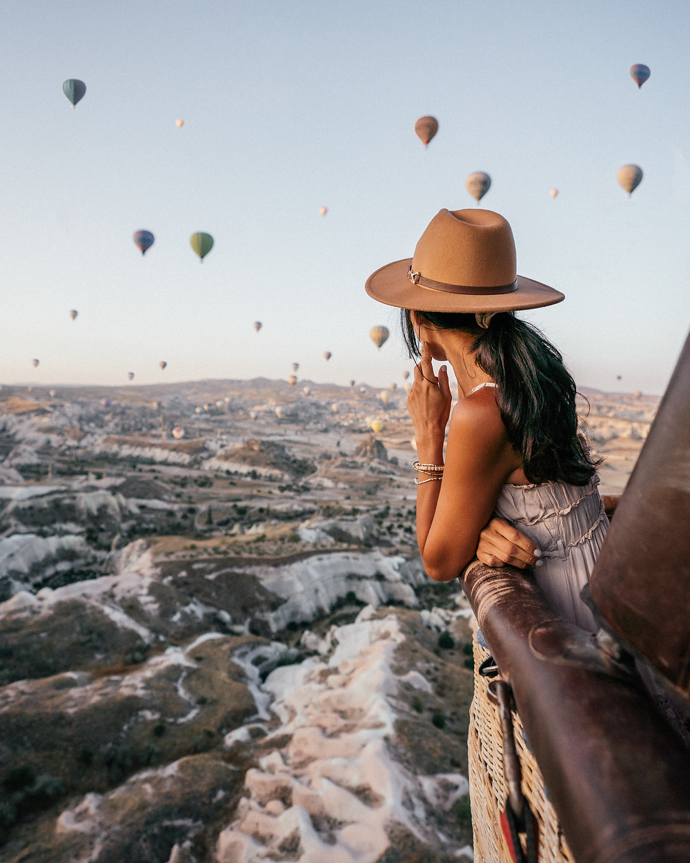 Hot Air Balloon Ride, Cappadocia, Turkey