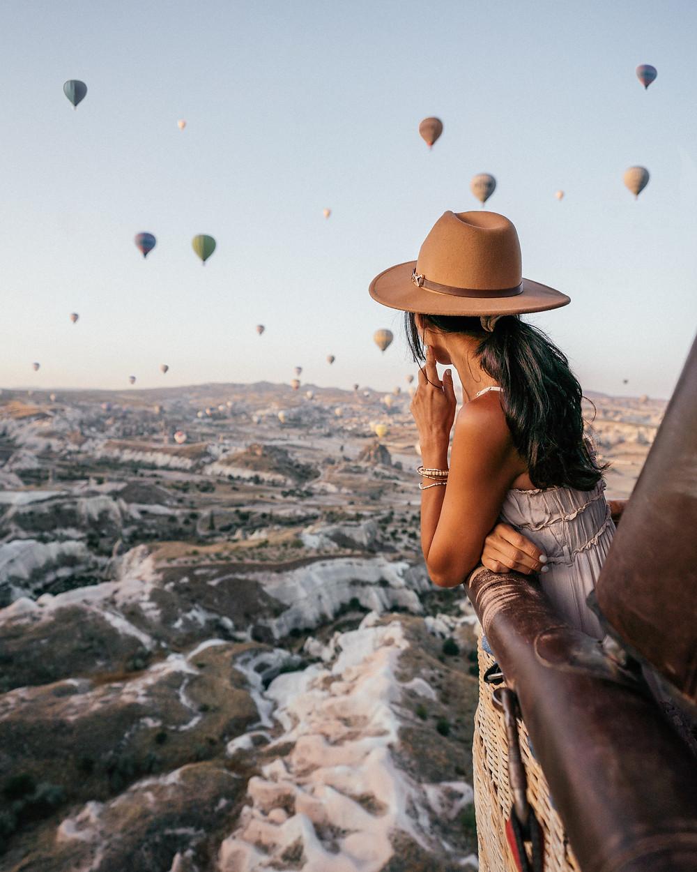 Hot Air Balloon Ride, Cappadocia, Turkey