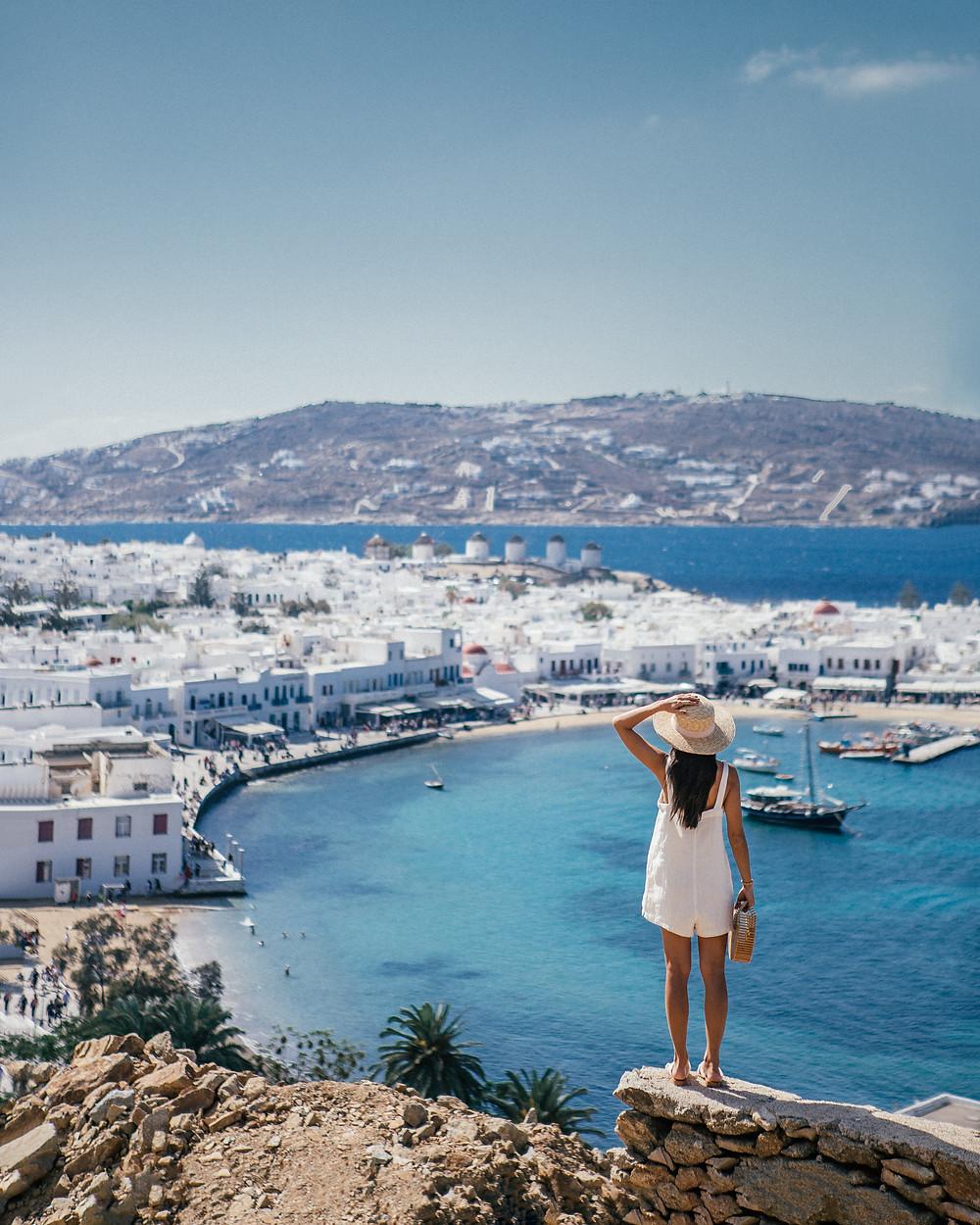 Mykonos View, Greece