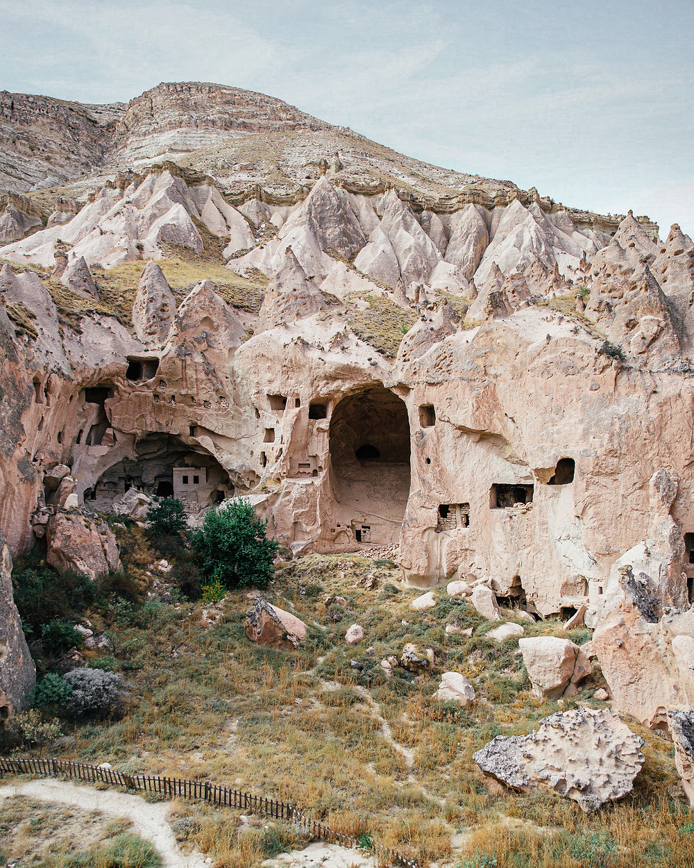 Zelve Open Air Museum, Cappadocia, Turkey