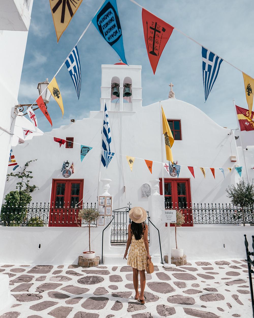 Panachra Church, Mykonos, Greece