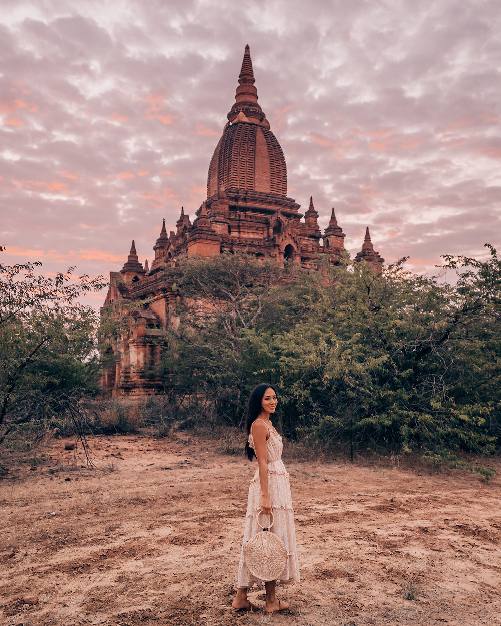 Old Bagan Sunrise, Myanmar