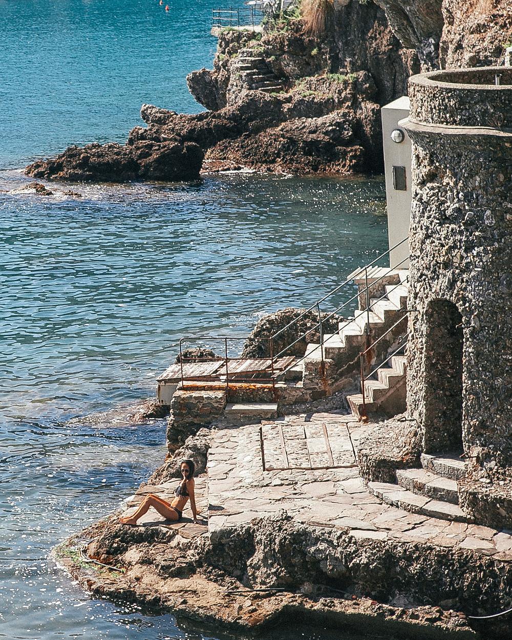 Cannone Bay, Portofino, Italy