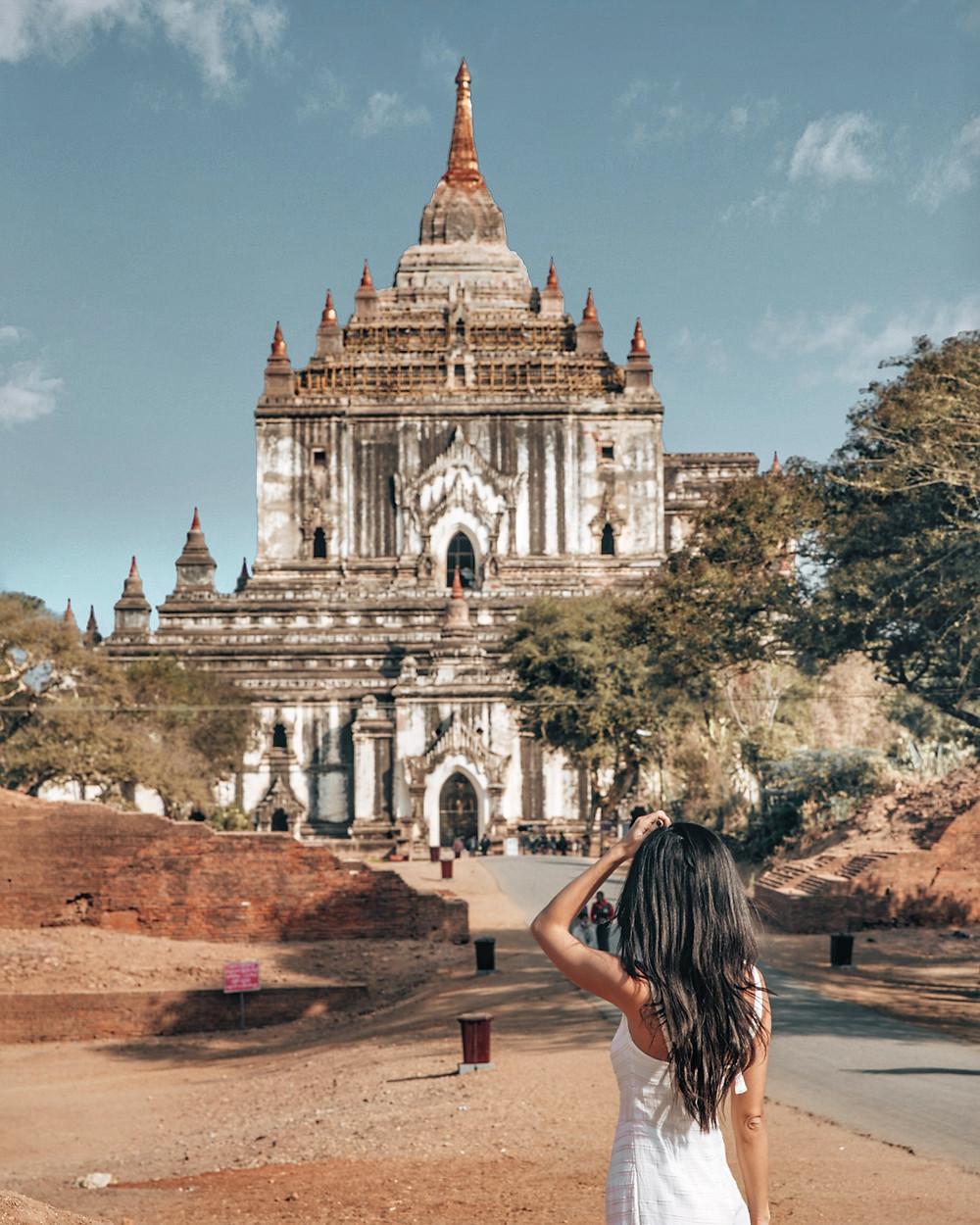 Thatbyinnyu Temple, Old Bagan, Myanmar