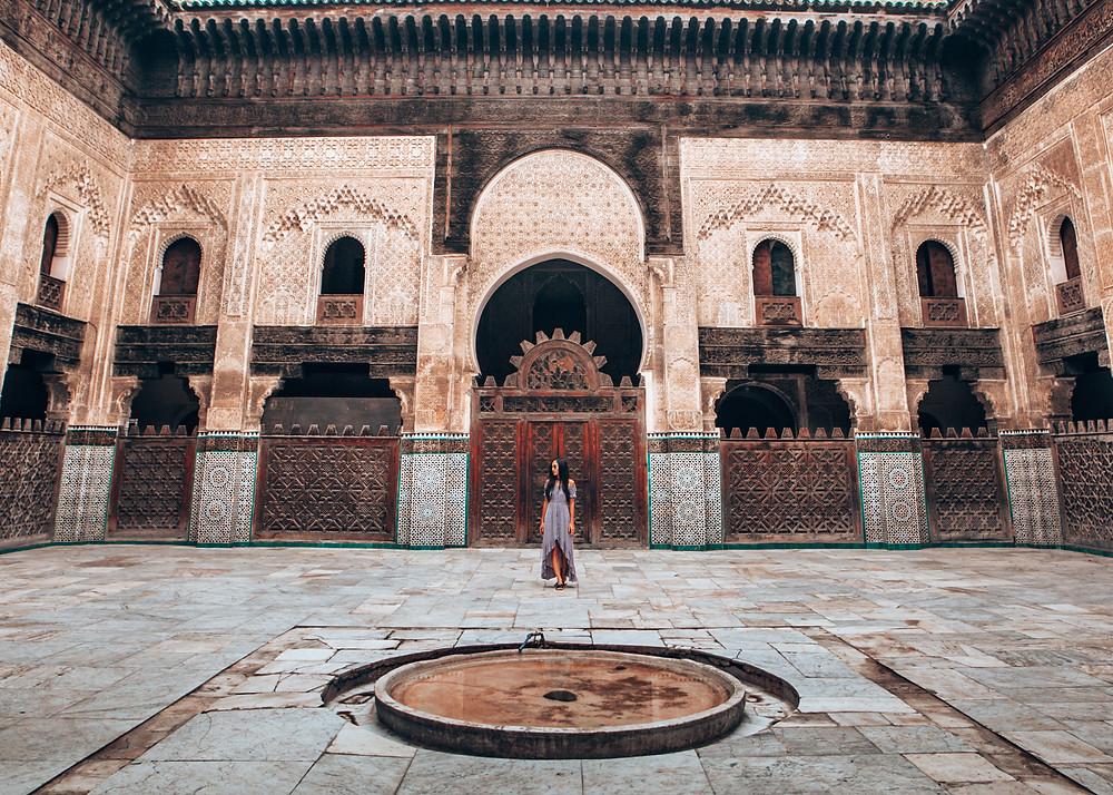 Madrasa Bou Inania, Fez, Morocco