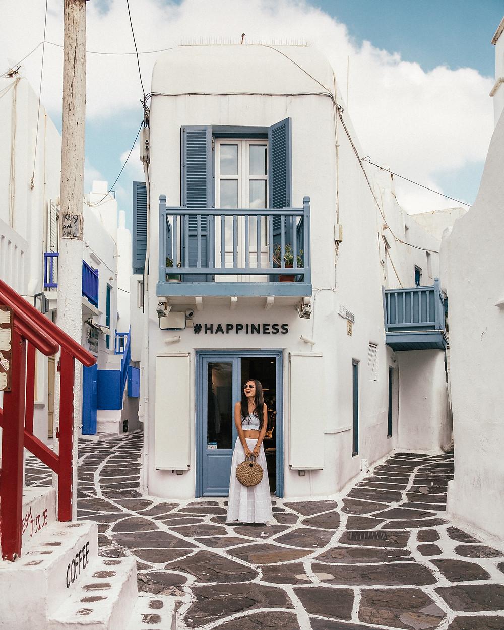 Happiness Boutique, Little Venice, Mykonos, Greece