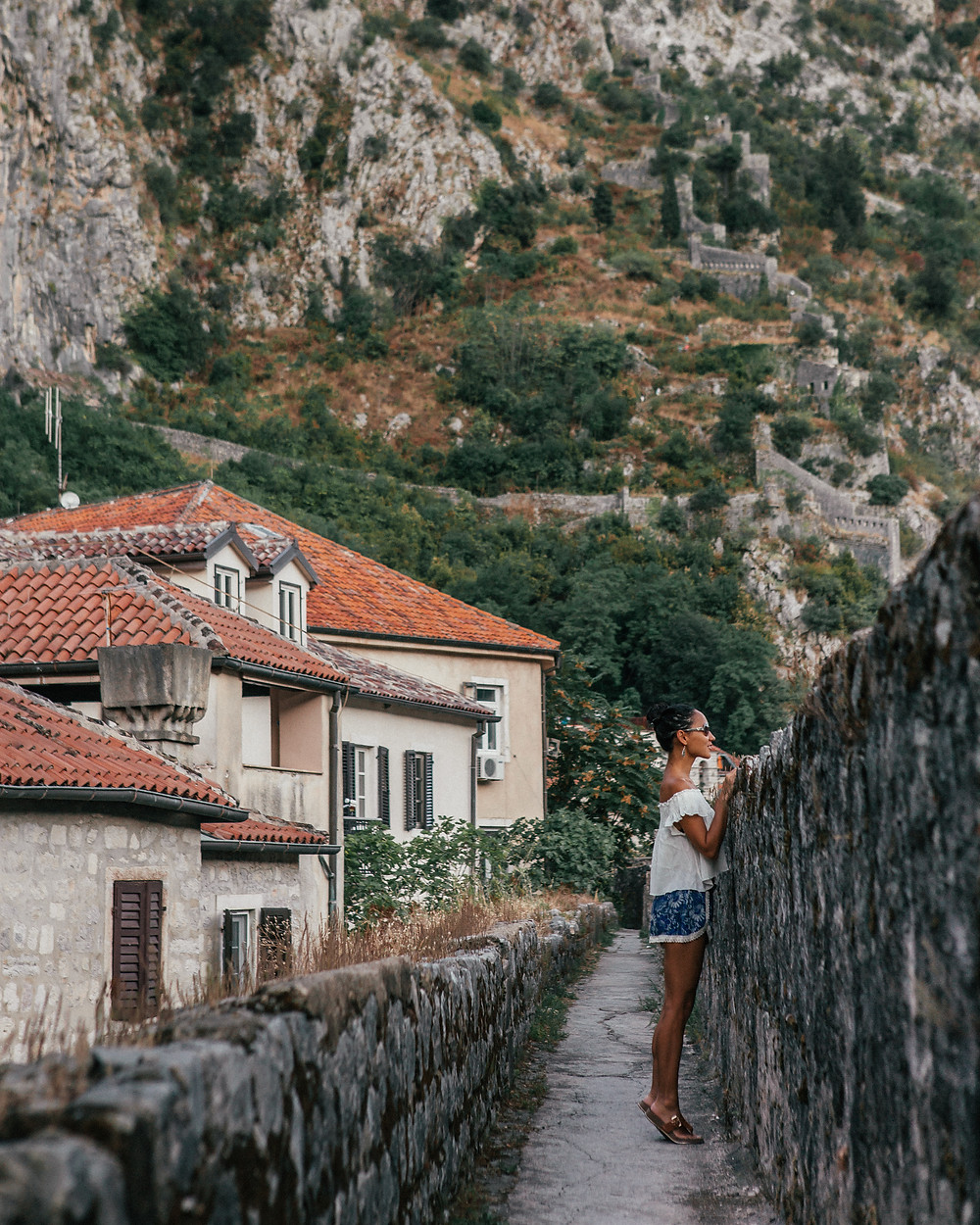 City Walls, Kotor, Montengro