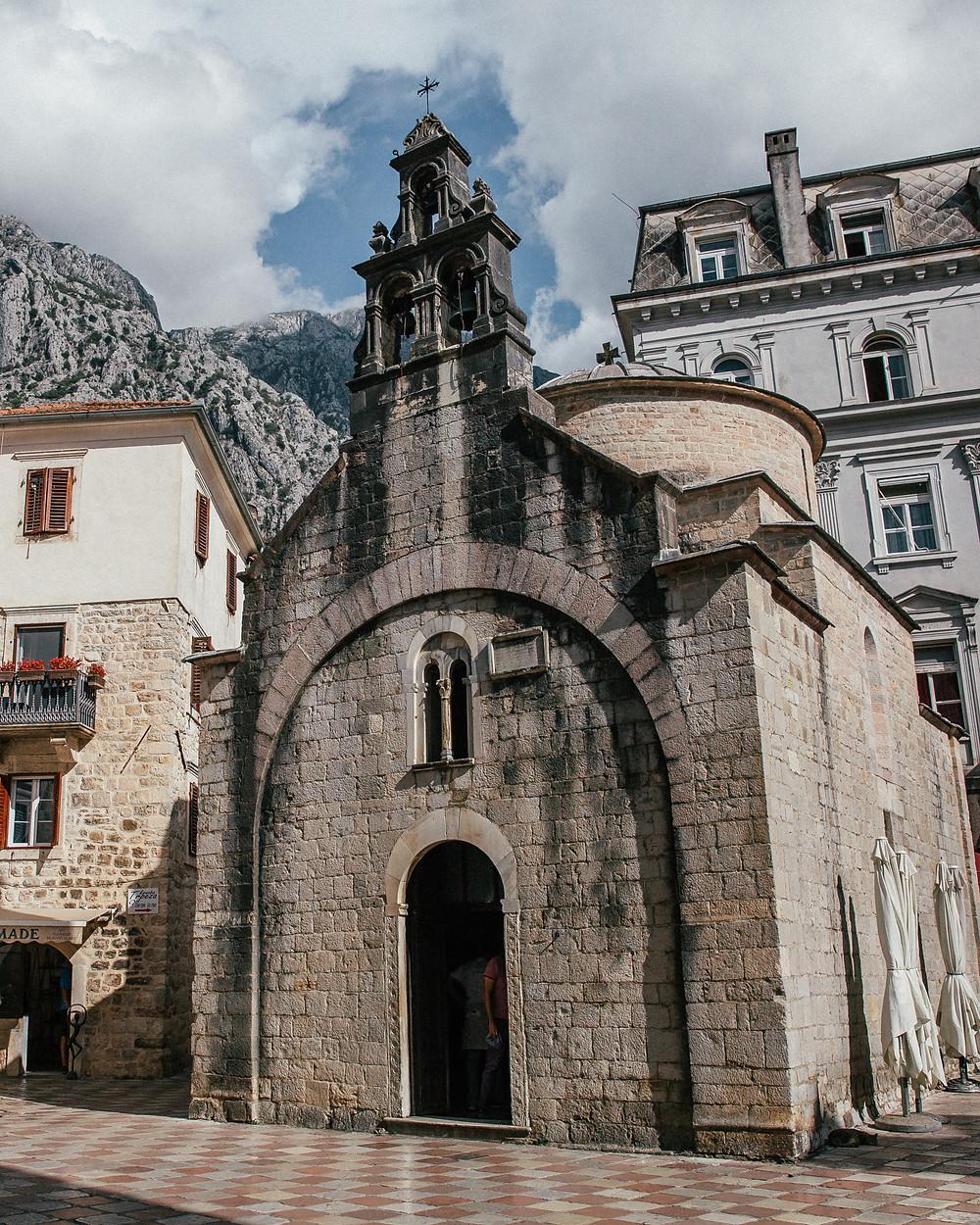 St. Luke's Church, Old Town Kotor, Montenegro