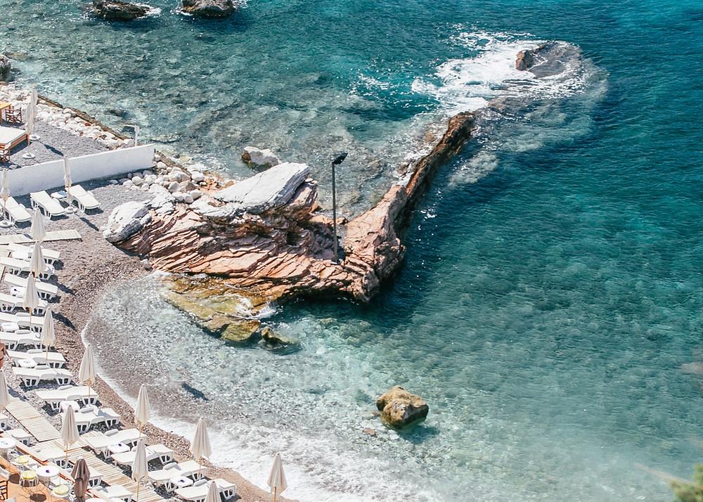Galija Beach, Sveti Stefan, Montenegro