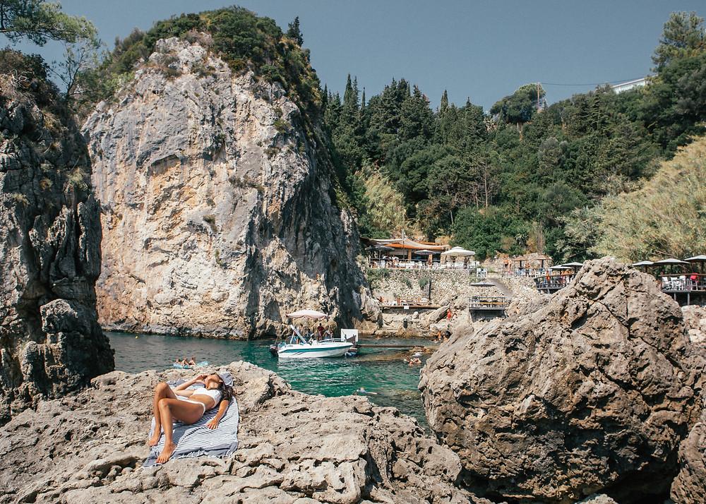 La Grotta, Corfu, Greece