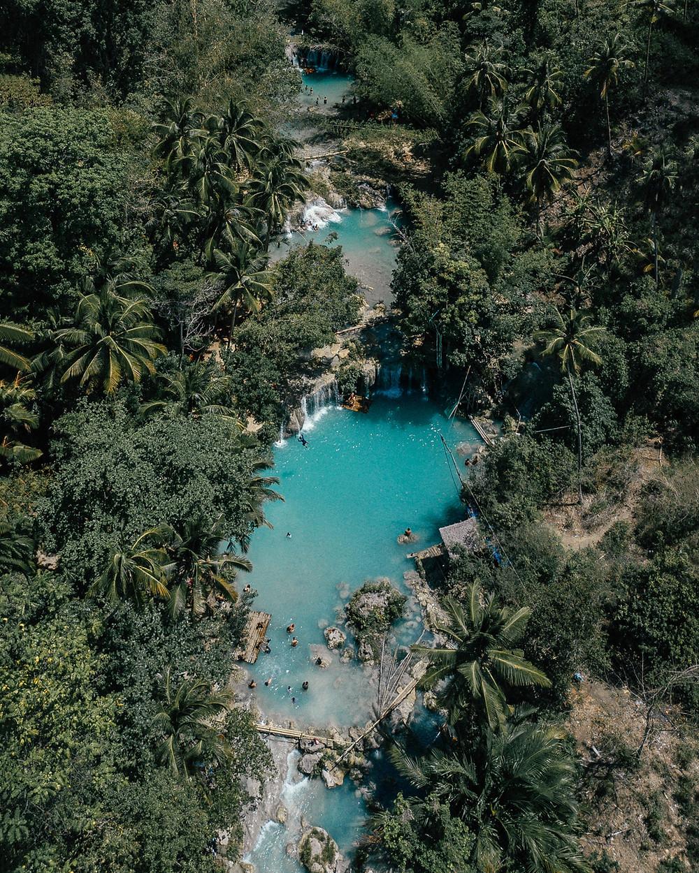 Cambugahay Falls, Siquijor, Philippines