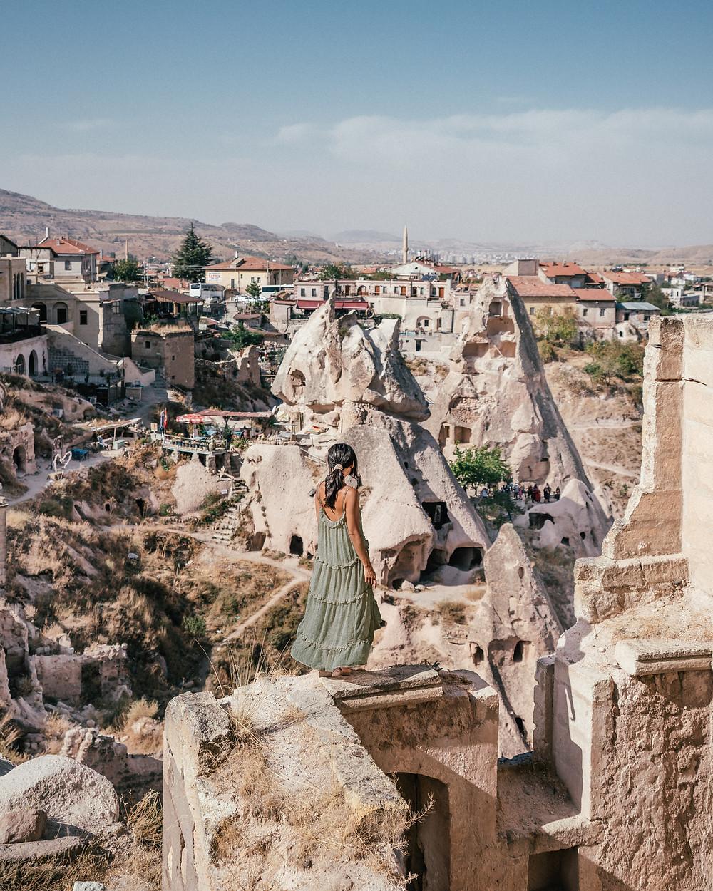 Uchisar Castle, Cappadocia, Turkey