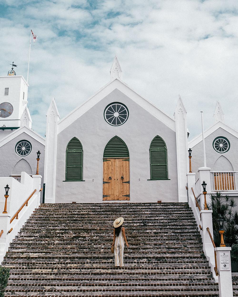St. Peter's Church, St. George's Parish, Bermuda