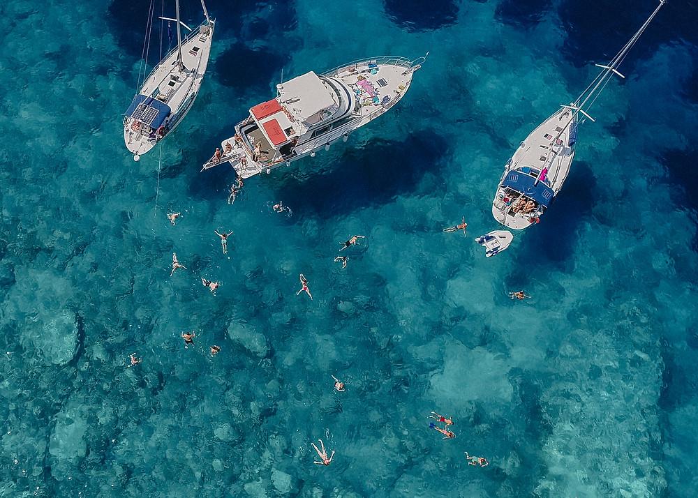 Blue Lagoon, Paxos, Greece
