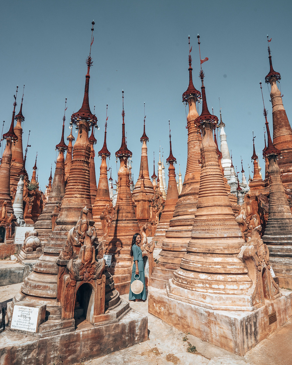 Indein Pagoda, Inle Lake, Myanmar