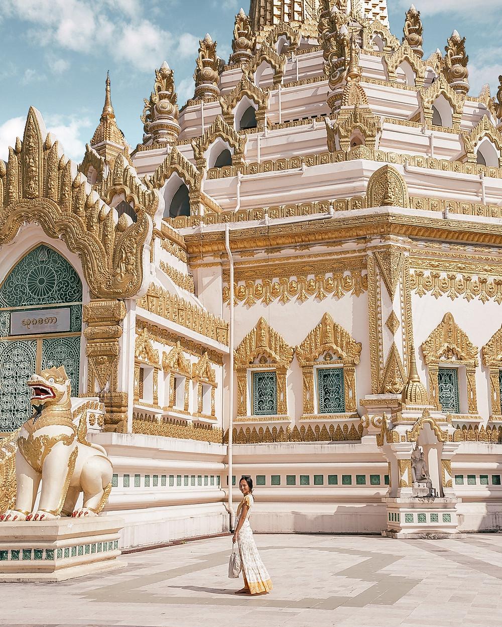 Swe Taw Myat Pagoda, Yangon, Myanmar