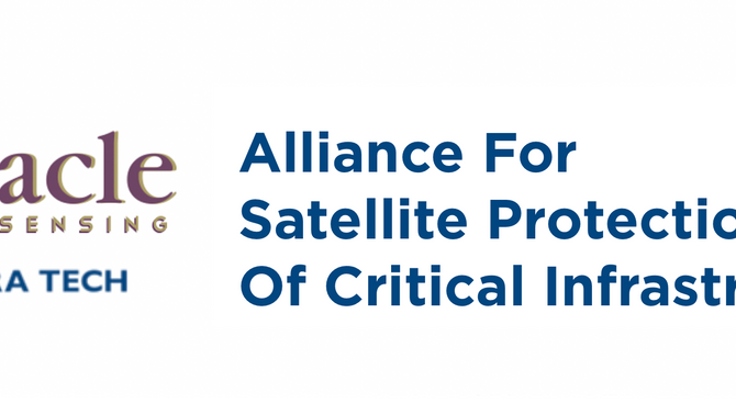 STRATEGIC ALLIANCE BETWEEN AURACLE & TETRA TECH TO PROVIDE SATELLITE PROTECTION OF CRITICAL INFR