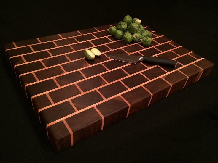 Black Brick Cutting Board (Large Bricks)
