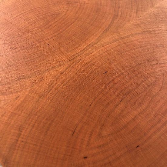 Bookmatched Cherry end grain