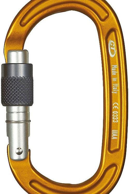 Mosquetón de seguridad simétrico con cierre de rosca Pillar Evo de CT
