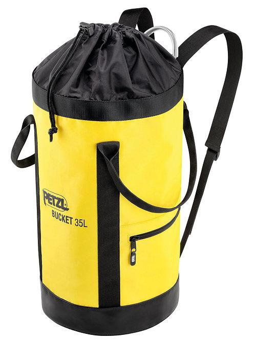 Saco autoportante Bucket 35 litros de  Petzl