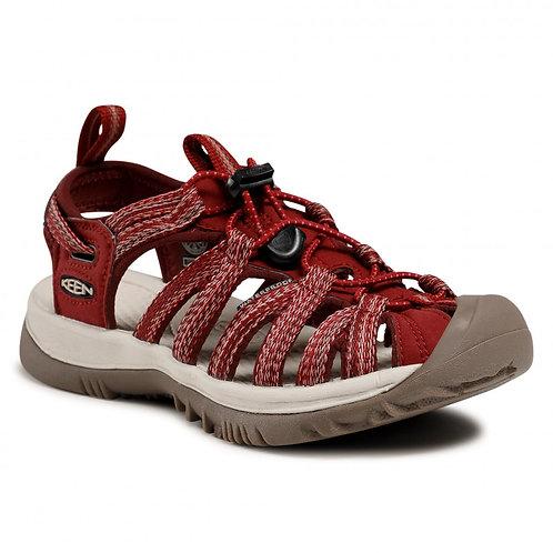 Sandalias multiactividad Whisper  red dahlia  de Keen