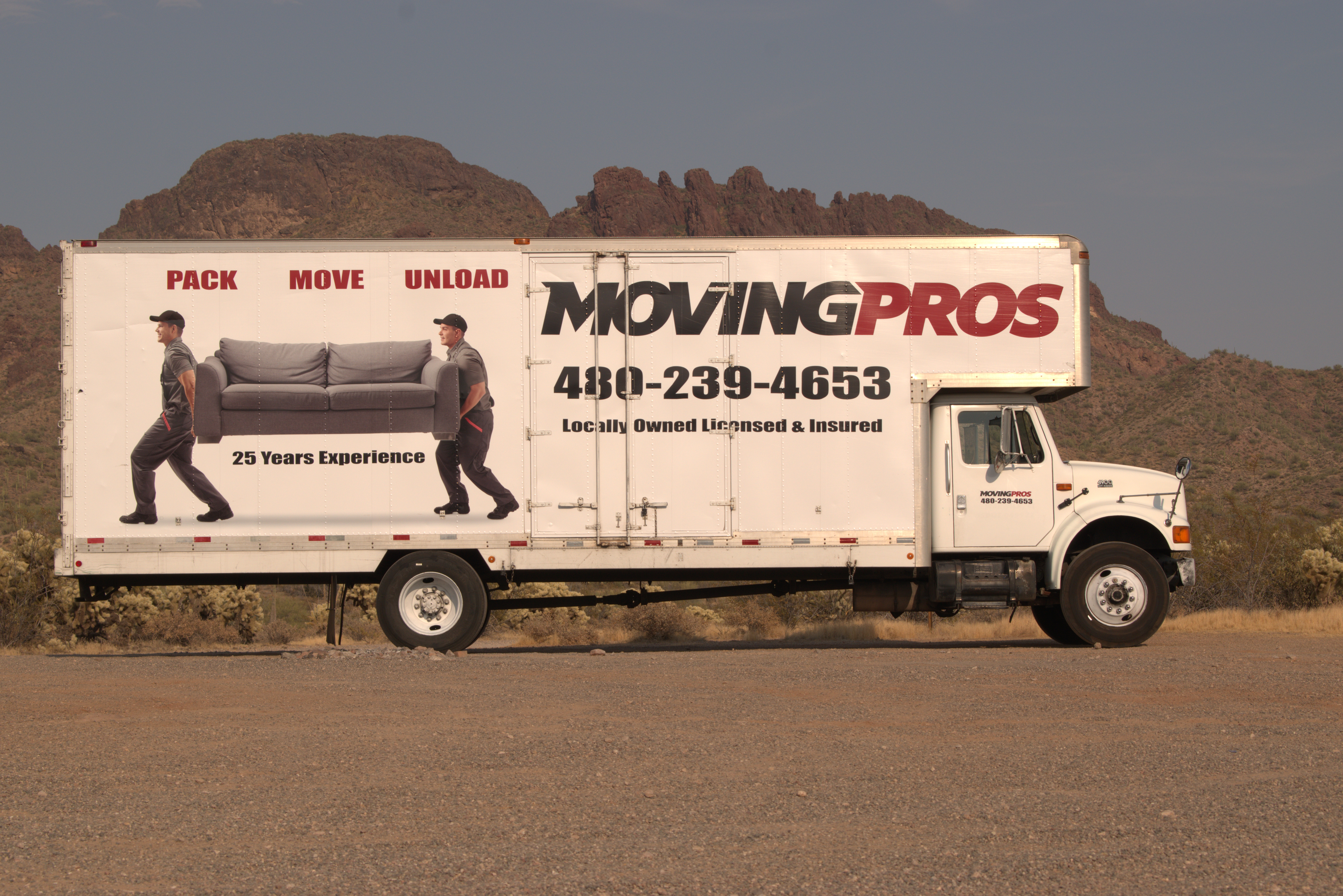 Movingpros Truck