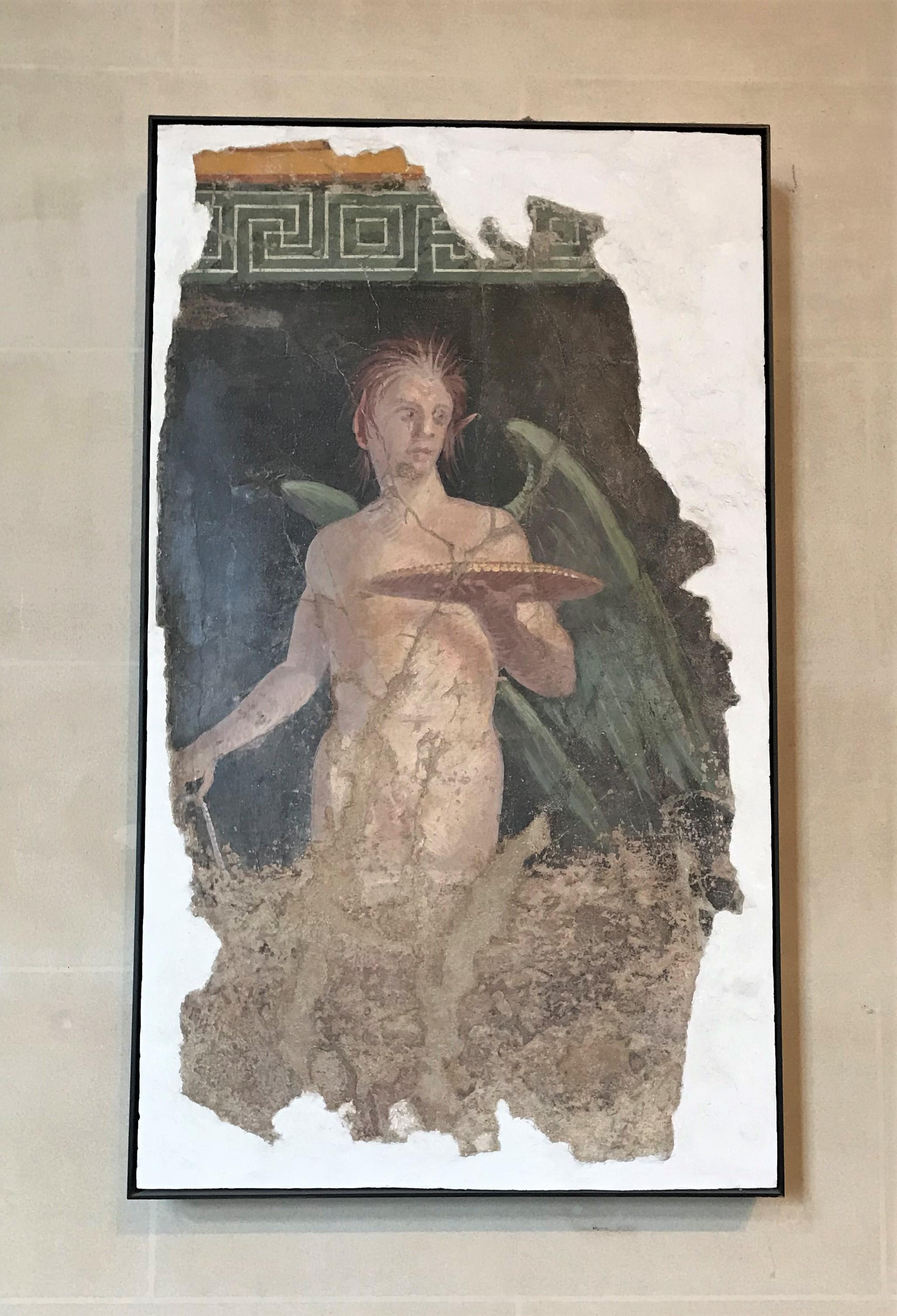羅浮宮館藏之水溶性蠟彩古蹟