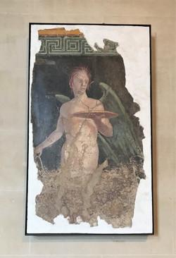 羅浮宮館藏之水性蠟彩古蹟
