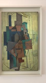 Homme à la cheminée / Pablo Picasso