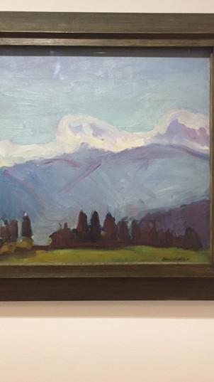 Les Alpes de Savoie / Henri Matisse