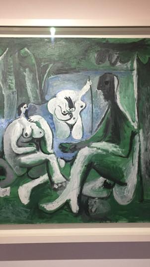 <Le Déjeuner sur l'herbe> après Manet/ Pablo Picasso
