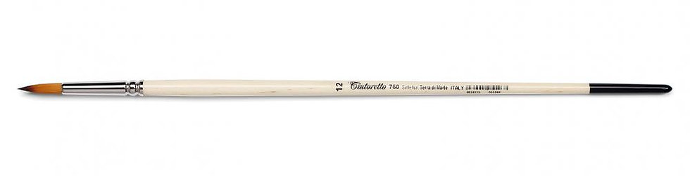 義大利Tintoretto 760 筆刷系列-no.2