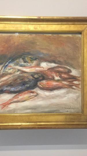 Nature morte aux poissons / Pierre-August Renoir