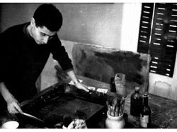 In_1962,_#Cuní_developed_the_formulation_of_the_water-soluble_encaustic_based_on_beeswax_and_soap_