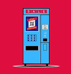 Vending Machine Digital Signage Advertising