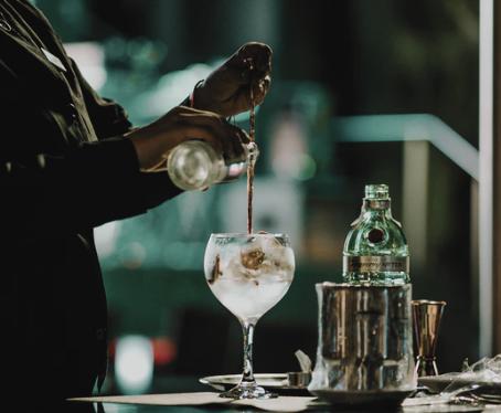 Radar do Luxo: Drink especial do Grand Hyatt - Agua Marinha