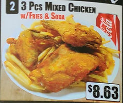 Crown Fried Chicken - 3 Piece Mixed Chicken with Fries and Soda.jpg